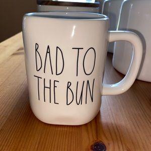 NEW Rae Dunn Bad to the Bun Easter bunny mug